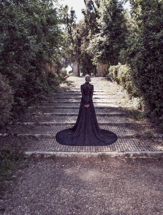 Fashion Editorial villa pamphili Photographer Marco Di Filippo 2